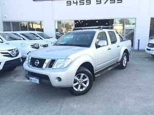 2012 Nissan Navara D40 MY12 ST (4x4) Silver 6 Speed Manual Dual Cab Pick-up Beckenham Gosnells Area Preview