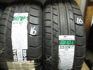 225/50R17 PAIR OF NEW COOPER A/S TIRES