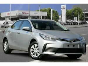 2018 Toyota Corolla ZRE172R Ascent S-CVT Silver Ash 7 Speed Constant Variable Sedan Adelaide CBD Adelaide City Preview
