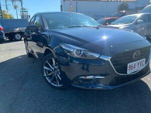 2018 Mazda 3 BN5438 SP25 SKYACTIV-Drive Astina Blue 6 Speed Sports Automatic Hatchback Springwood Logan Area Preview