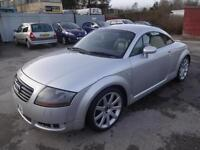 AUDI TT 1.8T QUATTRO 225 COUPE~52/02~6 SPEED MANUAL~STUNNING SILVER~PRIVATE REG