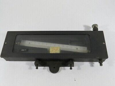 Meriam Instrument 40gd10 1 12 Range Inclined Tube Manometer Used