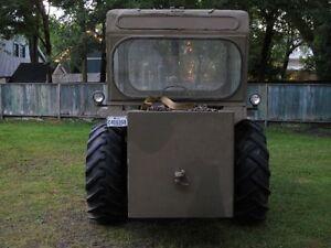 Tractor Case 580CK + equipment