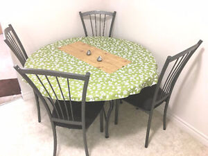 Glass Round Dining Table- Excellent design