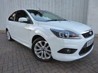 Ford Focus 1.6 Zetec S, 3 Door, Gorgeous in White, with Low Miles, and Comprehensive Service History