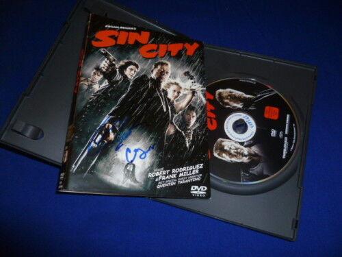 CLIVE OWEN und CARLA GUGINO Autogramm  DVD SIN CITY  IP