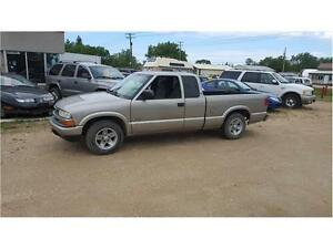 Low Mileage 2003 S10 ext cab SAFETIED