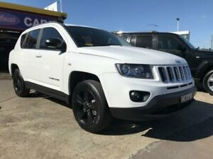 2014 Jeep Compass MK MY15 Sport (4x2) White 5 Speed Manual Wagon Cardiff Lake Macquarie Area Preview
