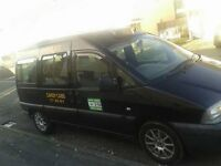 Fully Licenced Scudo Taxi Peugeot