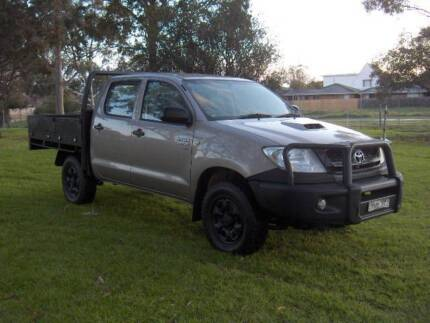 2010 TOYOTA HILUX SR 3.0LTR D-4D INTERCOOLED TURBO DIESEL 4X4 UTE Mordialloc Kingston Area Preview