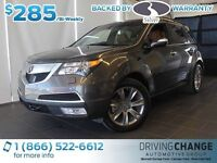 2012 Acura MDX Elite-Moon Roof-Nav-Rear Seat DVD Player