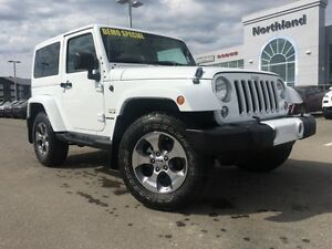2016 Jeep Wrangler Sahara 4x4 3.6L V6 6 Speed Manual