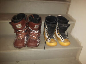 World Industries Snowboard boots size 8 mens