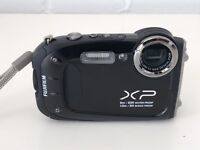 FUJIFILM FinePix XP60 water proof, shock proof, black compact camera.