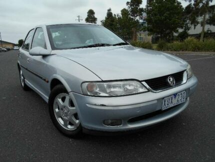 2000 Holden Vectra Jsii CD Silver 4 Speed Automatic Sedan Maidstone Maribyrnong Area Preview