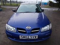 NISSAN ALMERA 1.5 TWISTER 5 DOOR HATCHBACK 02 REG,, TRADE IN CAR TO CLEAR,, MOT JUNE 2017