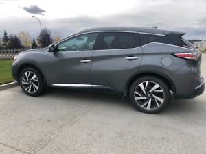 2017 Platinum Nissan Murano Bumper to Bumper Warranty to 140000k