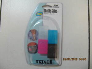 Classic Maxell Ipod 2nd Generation 2G 4pack ShuffleSkins Cir2007