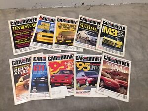 Assortment of classic, Sports and Contemporary Car Magazines