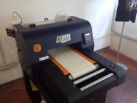 DTG Printer Kiosk Vol.3 with 1800 Modification By YES Fully refurbished in April