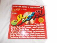 Vinyl LP Story Of Pop Various Artists K-Tel TE 295/6 Stereo