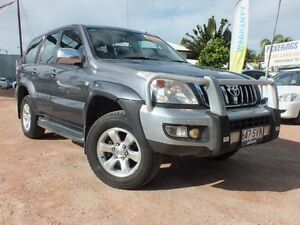 2002 Toyota Landcruiser Prado KZJ120R GXL Grey 5 Speed Manual Wagon Rosslea Townsville City Preview