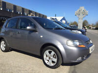 2007 (07) CHEVROLET KALOS 1.4 SX Grey 5 Doors FSH