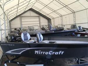 ALL NEW MIRROCRAFT 145T WITH 25HP MERC ONLY $13900