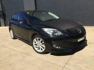 2012 Mazda 3 BL Series 2 SP25 Hatchback 5dr Activematic 5sp 2.5i Black Sports Automatic Hatchback Villawood Bankstown Area Preview