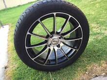 "17"" Wheels, rims with100% new tyres and 4 stud 225/45/17 Avondale Heights Moonee Valley Preview"