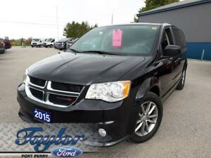 2015 Dodge Grand Caravan SXT *PREMIUM**LEATHERETTE**VERY CLEAN*