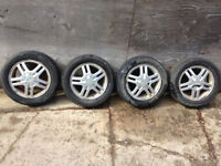 Set of four 15 inch aluminum wheels for Ford Focus. Kitchener / Waterloo Kitchener Area Preview