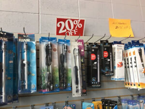 Aquagiant  Heater, Light, Freshwater fish 20% off this weekend