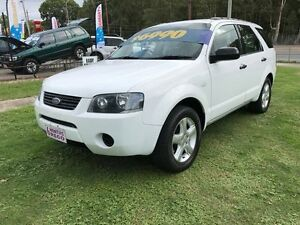2007 Ford Territory SY TS (RWD) White 4 Speed Auto Seq Sportshift Wagon Clontarf Redcliffe Area Preview