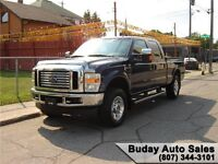 2010 FORD F-250 SUPER DUTY LARIAT CLUB CAB 4X4