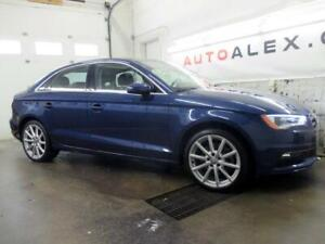2016 Audi A3 1.8T 48,000KM  TOIT PANORAMIQUE CUIR MAGS