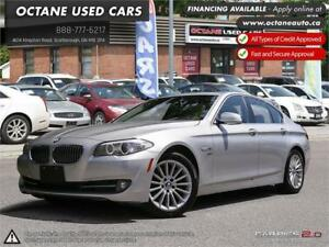 2011 BMW 5 Series 535i Xdrive - Navigation! Sensors! MINT!