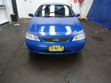 2006 Ford Falcon  Blue 4 Speed Automatic Sedan Cardiff Lake Macquarie Area Preview