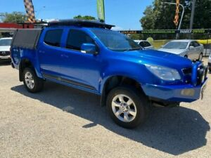 2015 Holden Colorado RG MY15 LS (4x4) Blue 6 Speed Automatic Crew Cab Pickup Islington Newcastle Area Preview