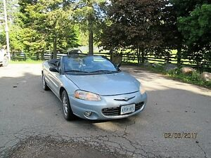 2003 Chrysler Sebring Convertible