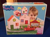 Peppa Pig Shopping Playset - Brand new