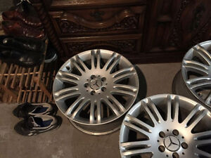 OEM Mercedes Benz Mags 18 pouces Staggered Original