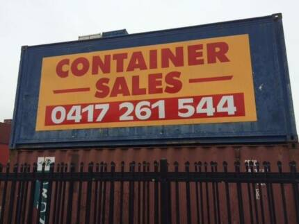 40 foot shipping containers Melbourne CBD Melbourne City Preview