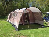 Outwell Arkansas 5 tent with carpet and bag, excellent condition and very lightly used