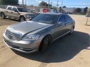 WATER DAMAGED 2011 Mercedes-Benz S-Class S550( IRREPARABLE TITL)