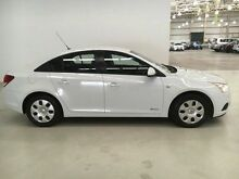 2011 Holden Cruze JH Series II MY CD White 6 Speed Manual Sedan Edgewater Joondalup Area Preview
