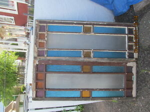 Stained Glass/colored glass windows for sale
