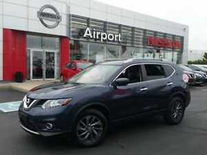 2016 Nissan Rogue SL LOADED,LEATHER,NAVIGATION,PW,PL,ALLOY,ROOF