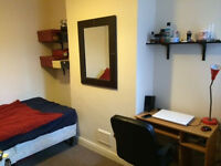 A nice small double bedroom for mature students