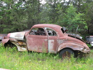 1940 CHEV COUPE.....rough condition